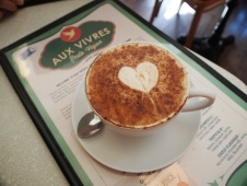 Aux Vivres Coffee